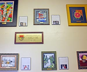"""Best of Show"" artwork remains on display."