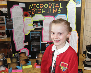 State winner science project on Microbial Biofilms.